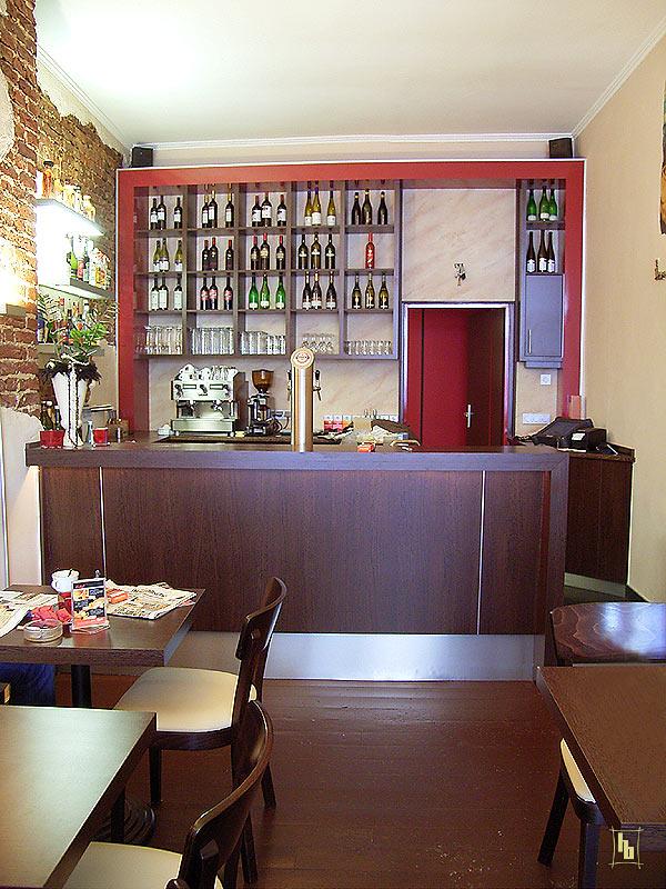 caf bar ladenbau brinkmann. Black Bedroom Furniture Sets. Home Design Ideas